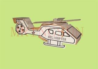 helicoptero de papel
