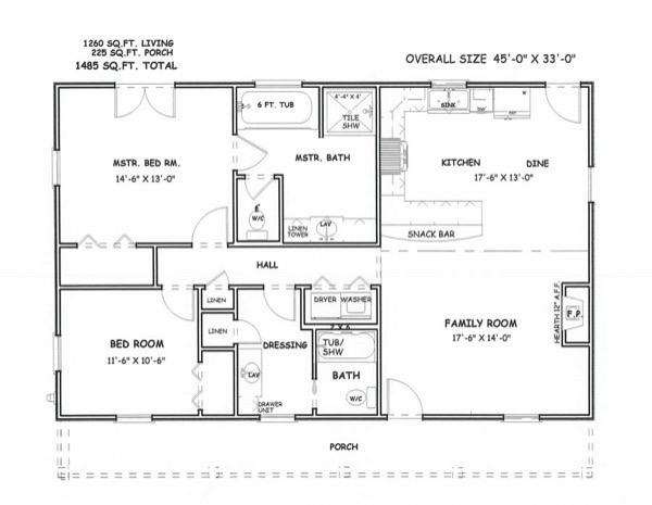 1-modelos de plantas de casas