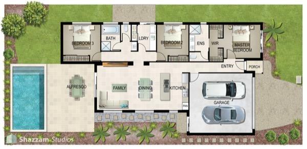 35-modelos de plantas de casas