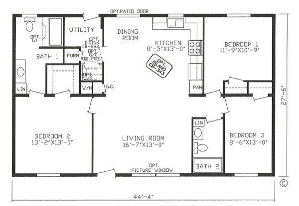 54-modelos de plantas de casas