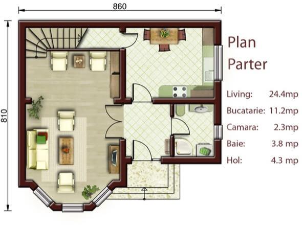 12-casas populares da caixa projetos