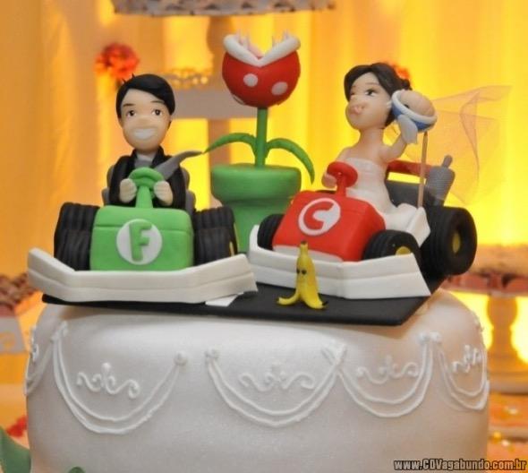 3-bolo de casamento geek