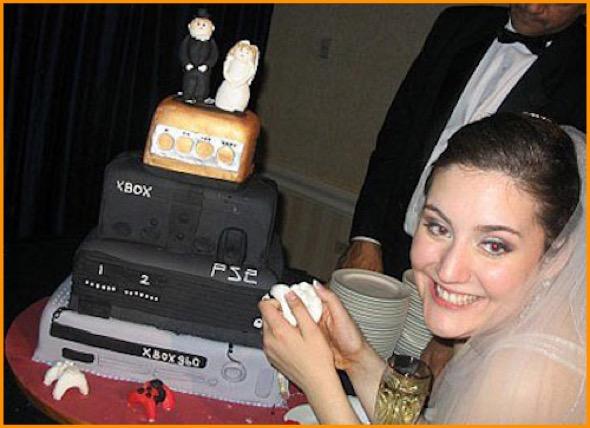 5-bolo de casamento geek