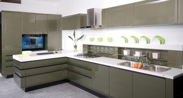 Arm rios de cozinha 21 modelos e dicas para escolher o melhor - Modelos de armarios ...