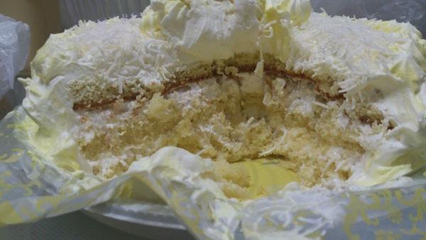bolo de abacaxi gelado