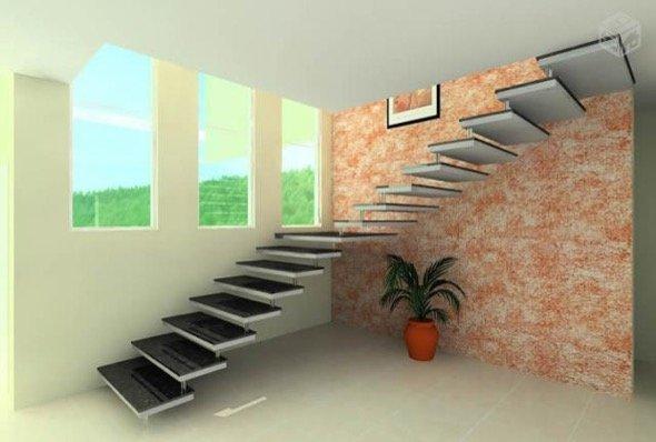 1-escadas retas modelos