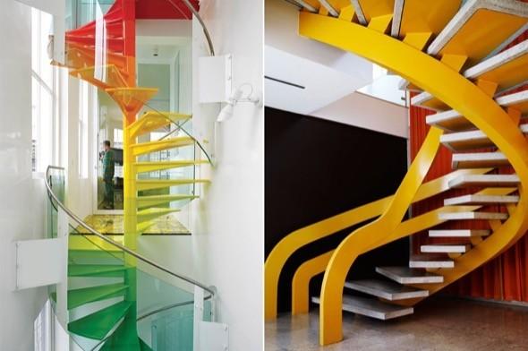 2-modelos de escadas caracol