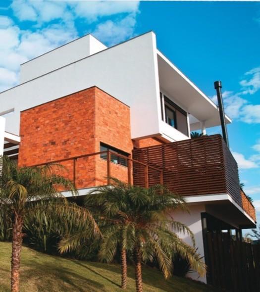 3-fachadas e paredes de tijolo colonial