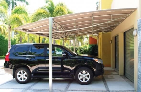 5-modelos de cobertura para garagem