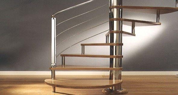 5-modelos de escadas caracol