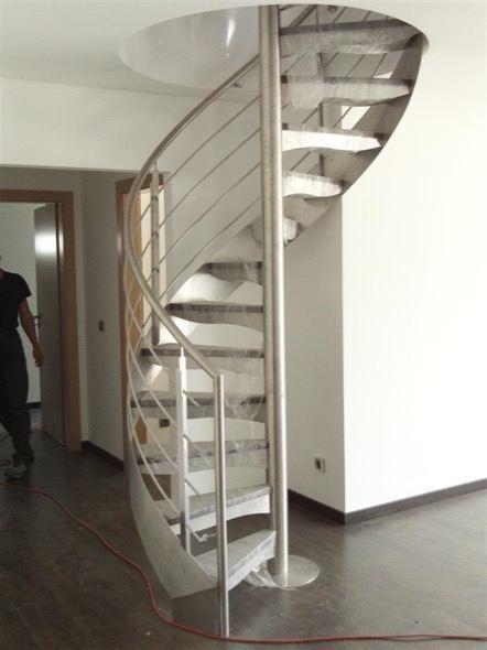 8-modelos de escadas caracol