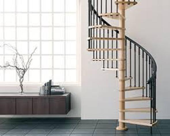 9-modelos de escadas caracol