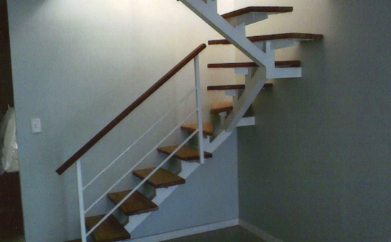 escadas retas modelos