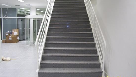 modelo de escada reta