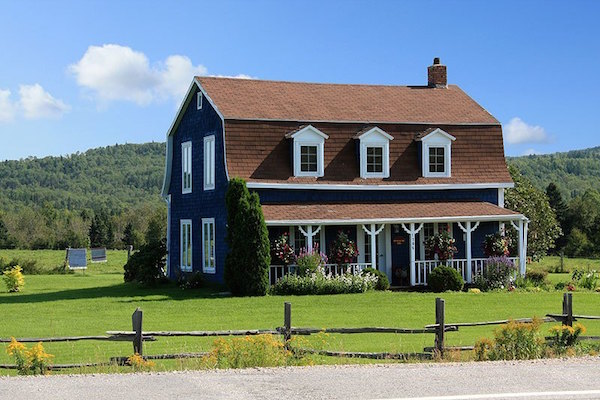 20 modelos de casas de campo de todos tamanhos for Casa modelo americano