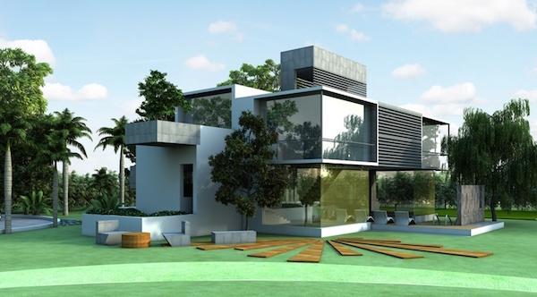 20 modelos de casas de campo de todos tamanhos for Casa moderna de campo