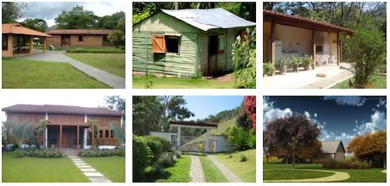 Modelos de casas simples e popular tattoo design bild - Modelos de casas de campo pequenas ...