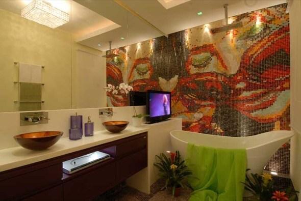 3-banheiros decorados com pastilhas coloridas