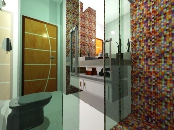 Banheiros Com Pastilhas Azul 12jpg Pictures to pin on Pinterest -> Decoracao De Banheiro Com Pastilha Amarela