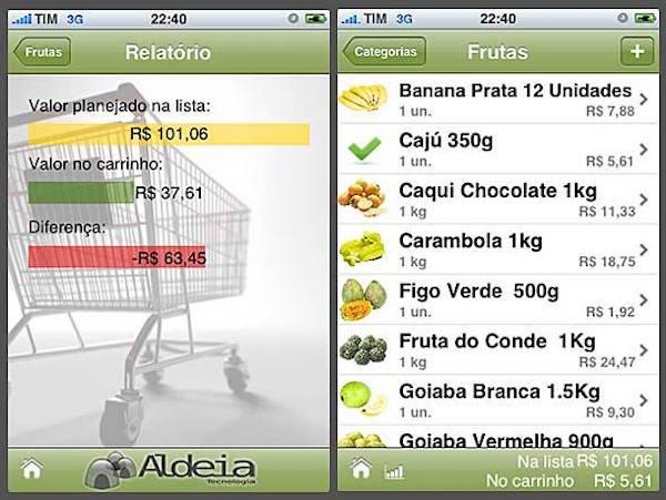 montar uma lista de compras3