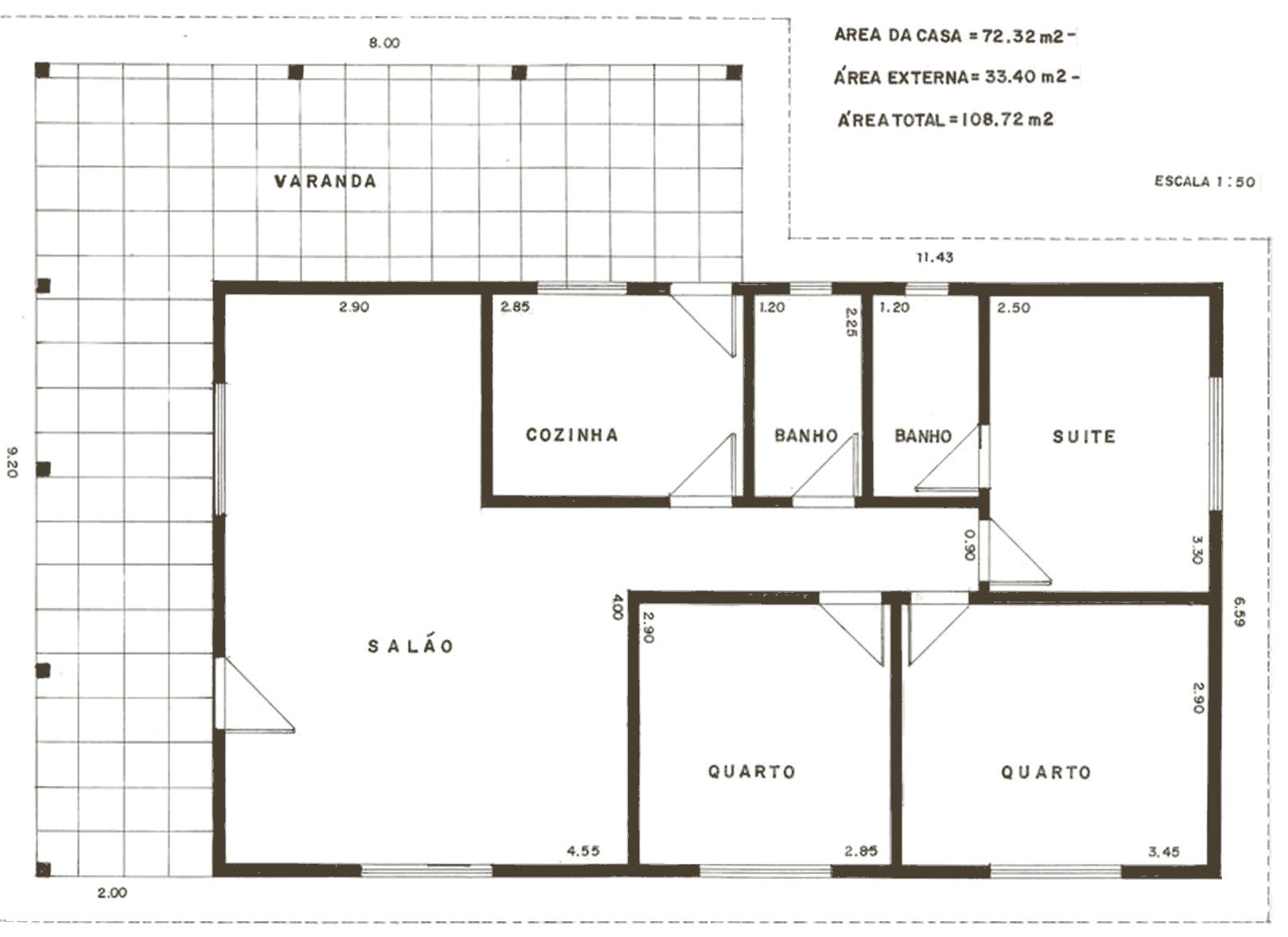 Plantas de casas de praia 41 modelos e projetos - Shop on line casa ...