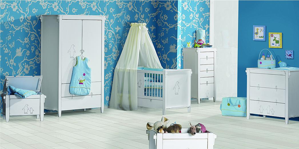 10 quartos de bebê menino decorados e 3 dicas