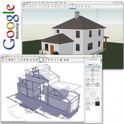 Google Sketch modelos programa 2