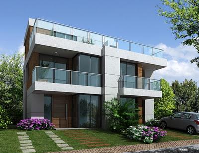 Plantas de casas de campo 5 lindos modelos para construir - Ideas para construir casas campo ...