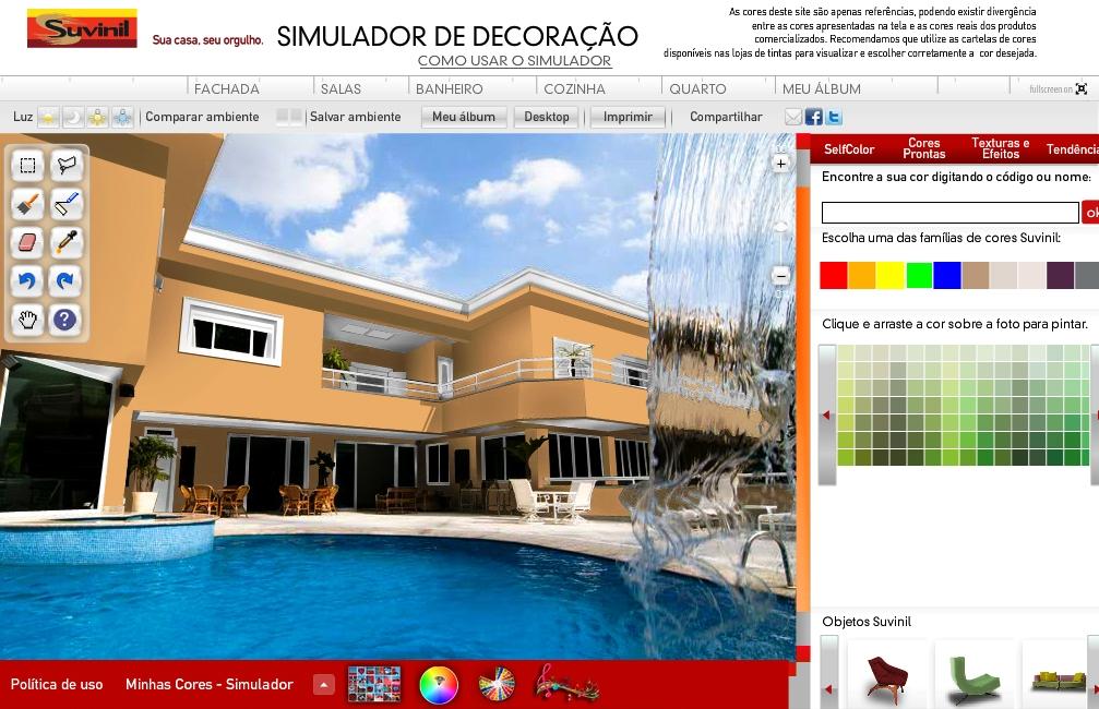 Simulador suvinil de cores e decora o ganha nova vers o - Pinturas bruguer simulador ...