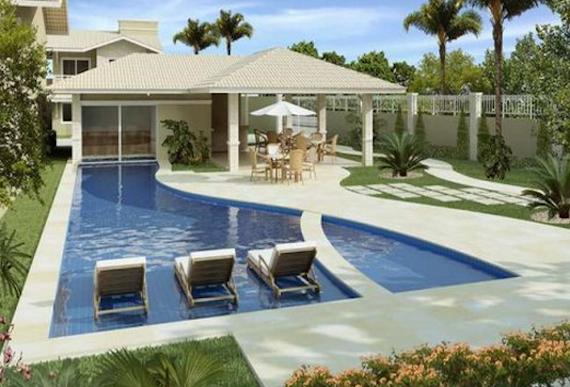 Plantas de casas de praia 41 modelos e projetos for Modelo de casa x dentro