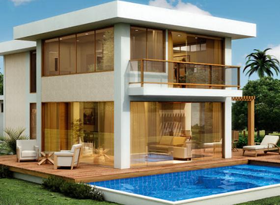 Plantas de casas de praia 41 modelos e projetos for Plantas para casa
