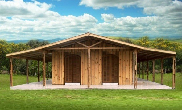 11-modelos de casas pre fabricadas de madeira