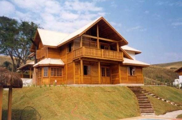 3-modelos de casas pre fabricadas de madeira