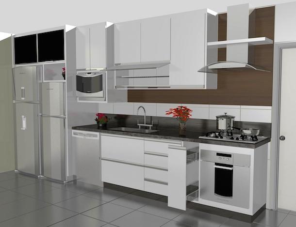 Móveis Plajenados para Cozinhas Pequenas7