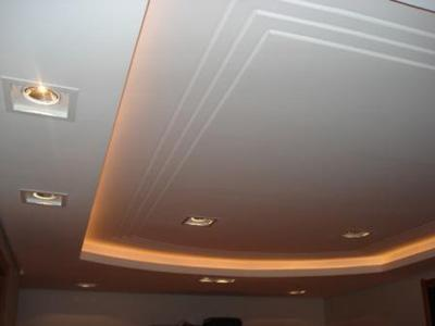 Rebaixamento de teto gesso