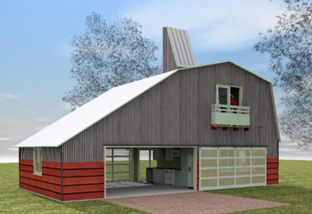 casa de campo agraria