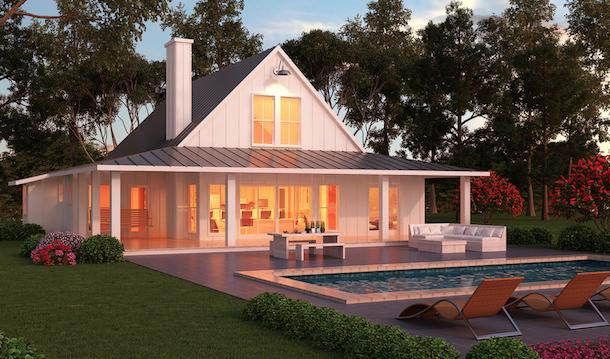 Plantas de casas de campo 5 lindos modelos para construir for Modelos de piscinas de campo