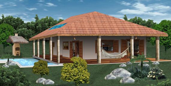 Plantas De Casas De Campo 5 Lindos Modelos Para Construir