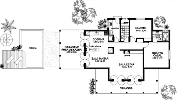 Plantas de casas de campo 5 lindos modelos para construir for Modelos de casas de campo de una planta