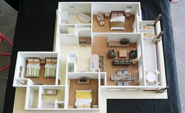11-plantas de casas 3d modelos