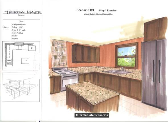 1-desenhar plantas de casas a maos livre