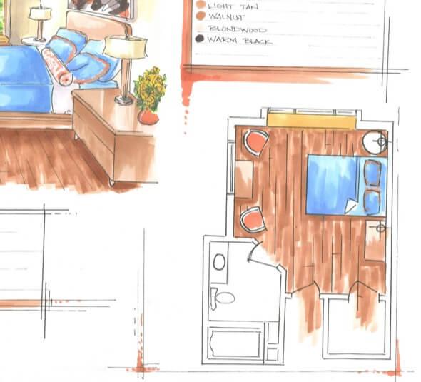 2-desenhar plantas de casas a maos livre
