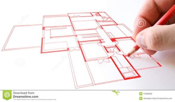 4-desenhar plantas de casas a maos livre