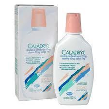 Espinhas caladryl