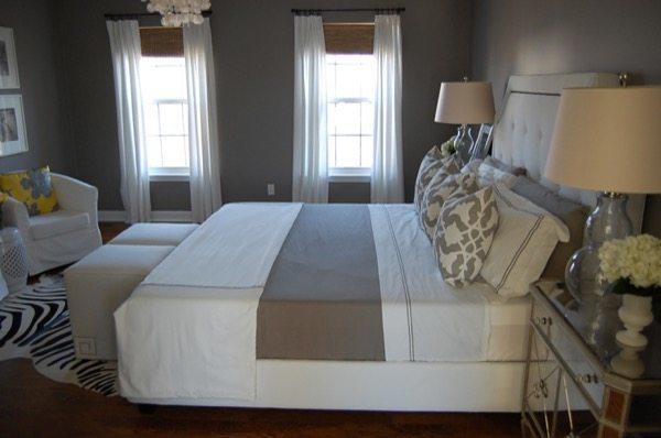 1-parede cinza na decoração salas e quartos