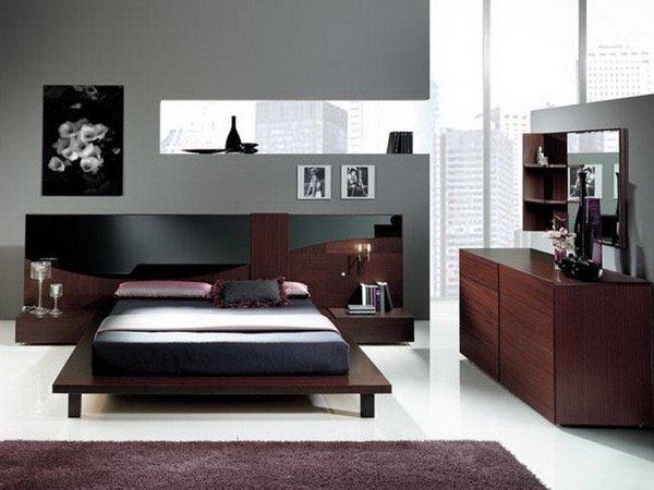 12-parede cinza na decoração salas e quartos