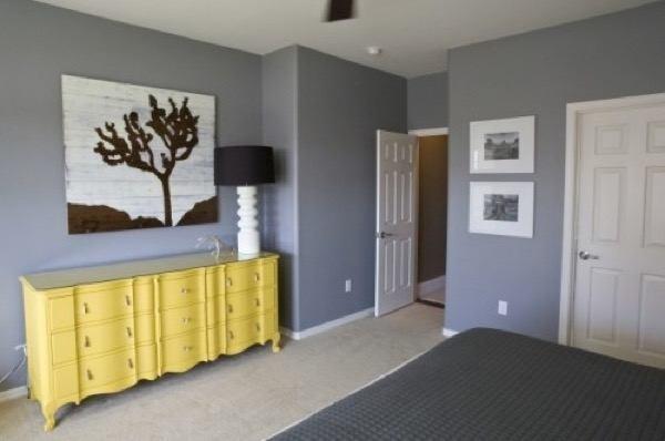 14-parede cinza na decoração salas e quartos