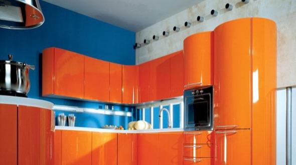 2-armarios de cozinha laranja