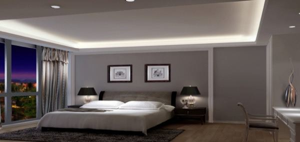 23-parede cinza na decoração salas e quartos