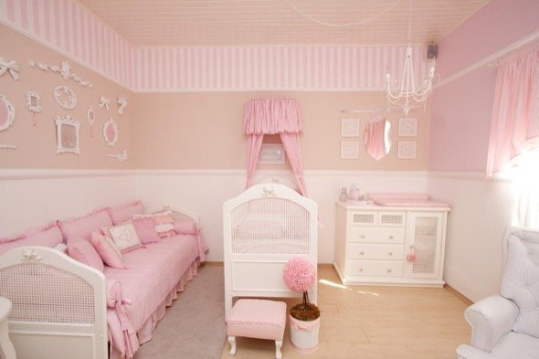 3-decorar quarto de bebe menina